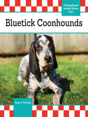 cover image of Bluetick Coonhounds