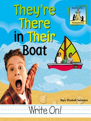 cover image of They're There in Their Boat