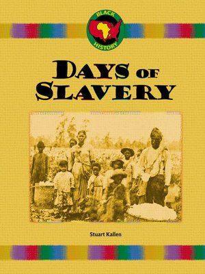 cover image of Days of Slavery
