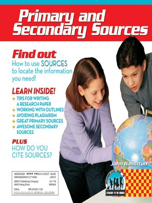 cover image of Primary and Secondary Sources