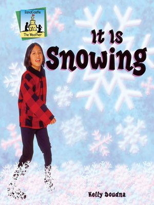 cover image of It Is Snowing