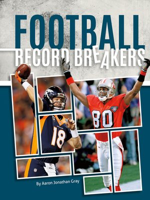 cover image of Football Record Breakers