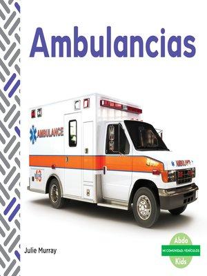 cover image of Ambulancias (Ambulances)