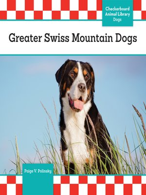 cover image of Greater Swiss Mountain Dogs