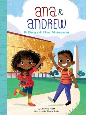 cover image of A Day at the Museum