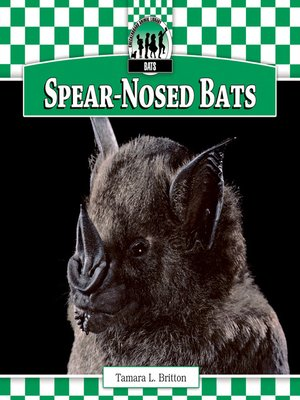 cover image of Spear-Nosed Bats