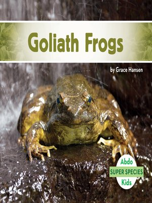 cover image of Goliath Frogs