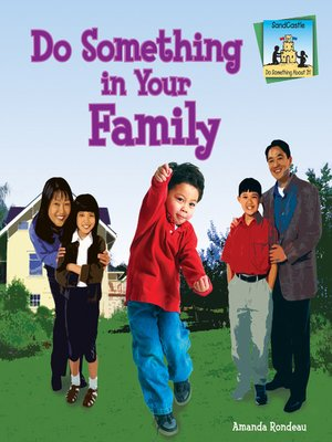 cover image of Do Something in Your Family