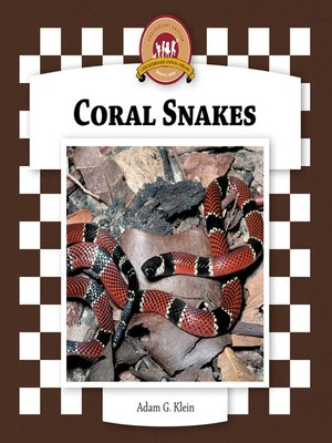 cover image of Coral Snakes