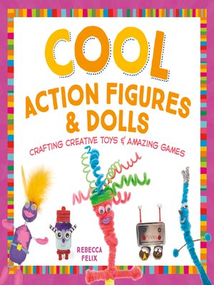 cover image of Cool Action Figures & Dolls