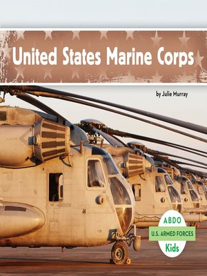 cover image of United States Marine Corps