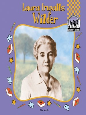 cover image of Laura Ingalls Wilder