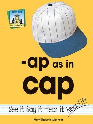 cover image of ap as in cap