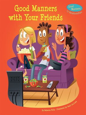 cover image of Good Manners with Your Friends