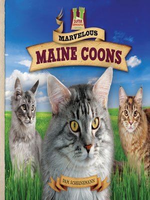 cover image of Marvelous Maine Coons