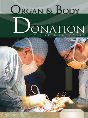 cover image of Organ and Body Donation