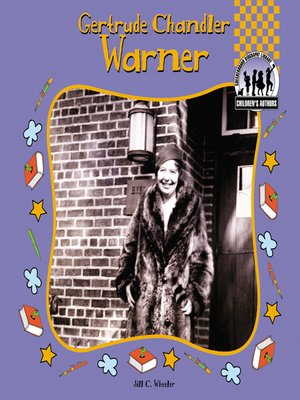 cover image of Gertrude Chandler Warner