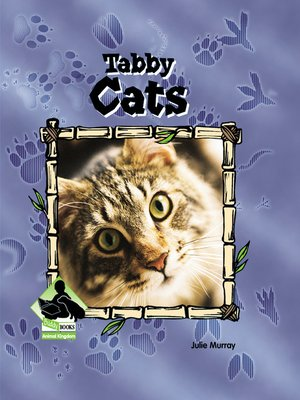 cover image of Tabby Cats