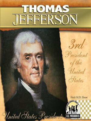 a discussion of thomas jeffersons presidential legacy There were many male jeffersons who thomas jefferson's worst it would seem to me that any discussion or presentation of jefferson would need to.