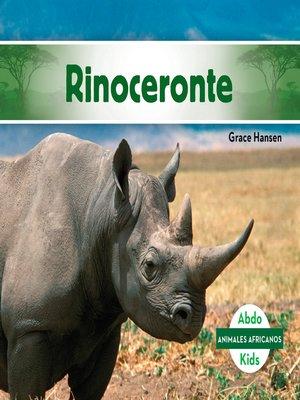 cover image of Rinoceronte (Rhinoceros)