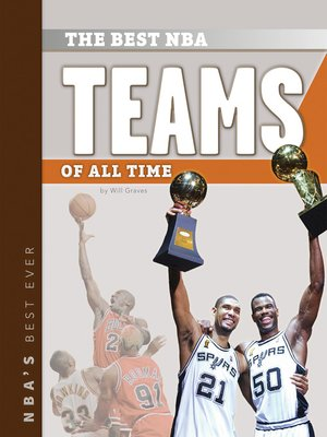 cover image of Best NBA Teams of All Time