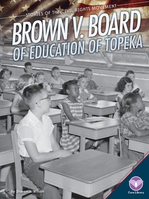 cover image of Brown v. Board of Education of Topeka