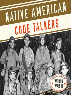 cover image of Native American Code Talkers