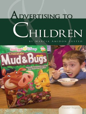 cover image of Advertising to Children