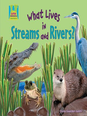 cover image of What Lives in Streams and Rivers?