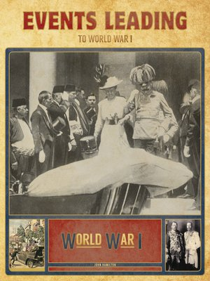 events leading ti world war 1