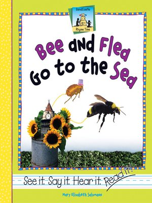 cover image of Bee and Flea go to the Sea