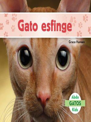 cover image of Gato esfinge (Sphynx Cats)