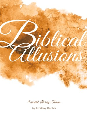 cover image of Biblical Allusions