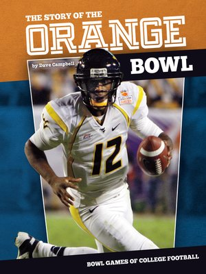 cover image of Story of the Orange Bowl