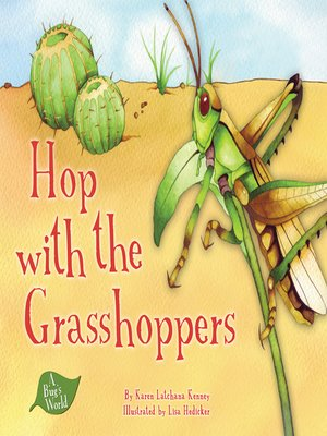 cover image of Hop with the Grasshoppers