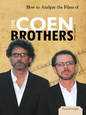 cover image of How to Analyze the Films of the Coen Brothers