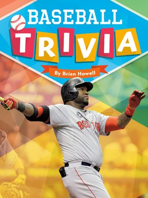 cover image of Baseball Trivia