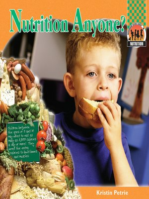 cover image of Nutrition Anyone?