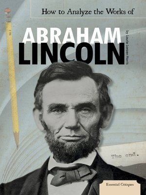 cover image of How to Analyze the Works of Abraham Lincoln