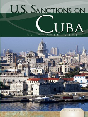 cover image of U.S. Sanctions on Cuba