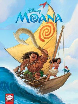 cover image of Disney Princesses: Moana