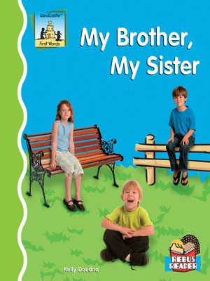 cover image of My Brother, My Sister