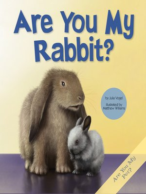 cover image of Are You My Rabbit?