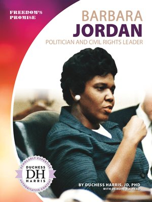 cover image of Barbara Jordan: Politician and Civil Rights Leader