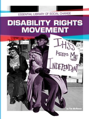 cover image of Disability Rights Movement