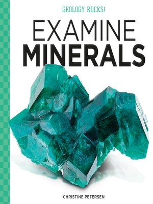 cover image of Examine Minerals