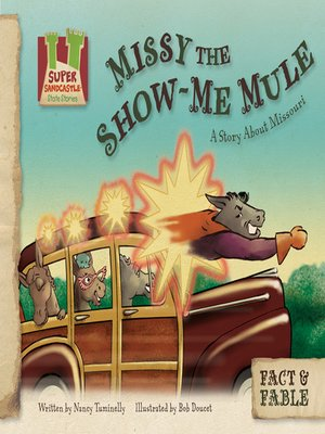 cover image of Missy the Show-Me Mule