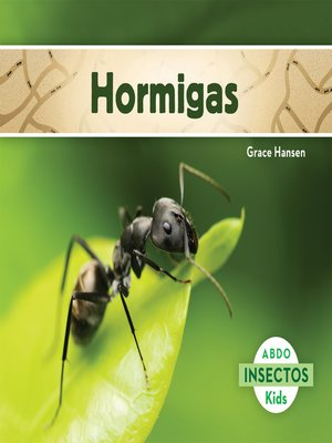 cover image of Hormigas