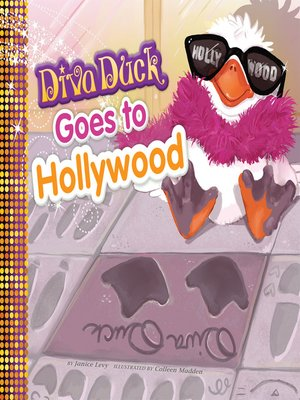 cover image of Diva Duck Goes to Hollywood