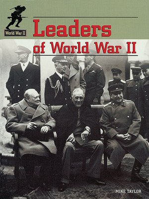 cover image of Leaders of World War II